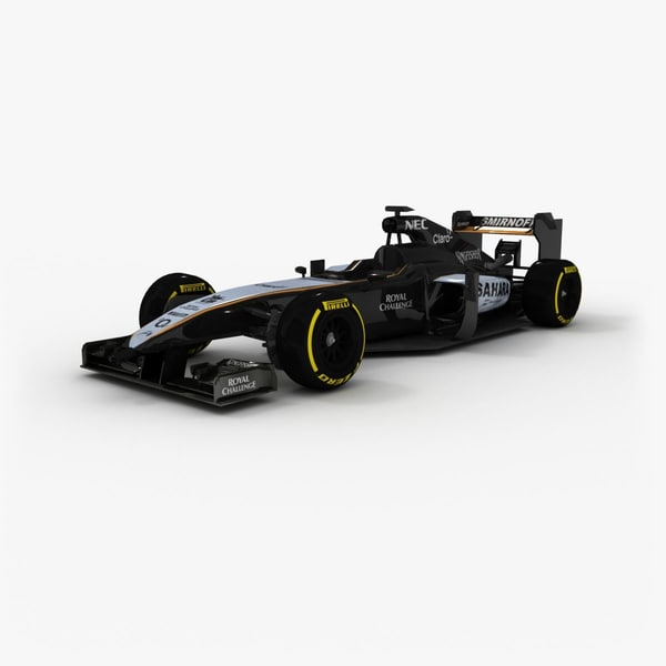 force india vjm08 2015 3ds