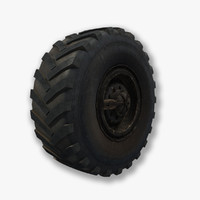 3d model wheel modeled