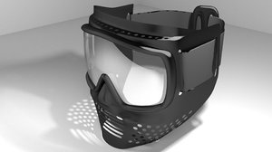 paintball mask 3d 3ds