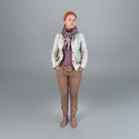 3d model human new