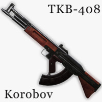Korobov's Assault Rifle TKB-408