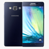 3d samsung galaxy midnight black model