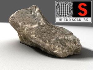 scanned 8k 3d model
