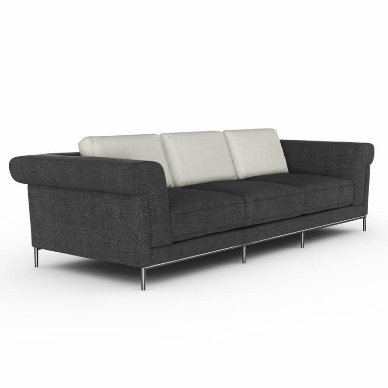 3d model of kuka sofa