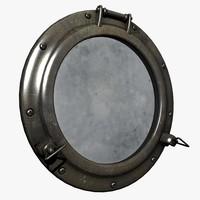 3d porthole port hole