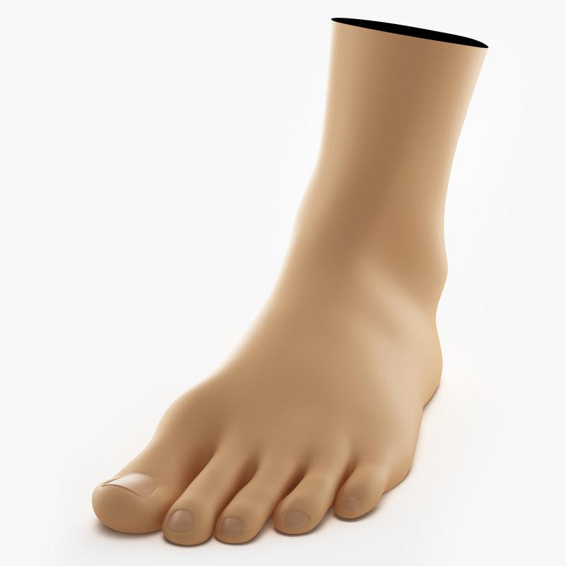 female foot max