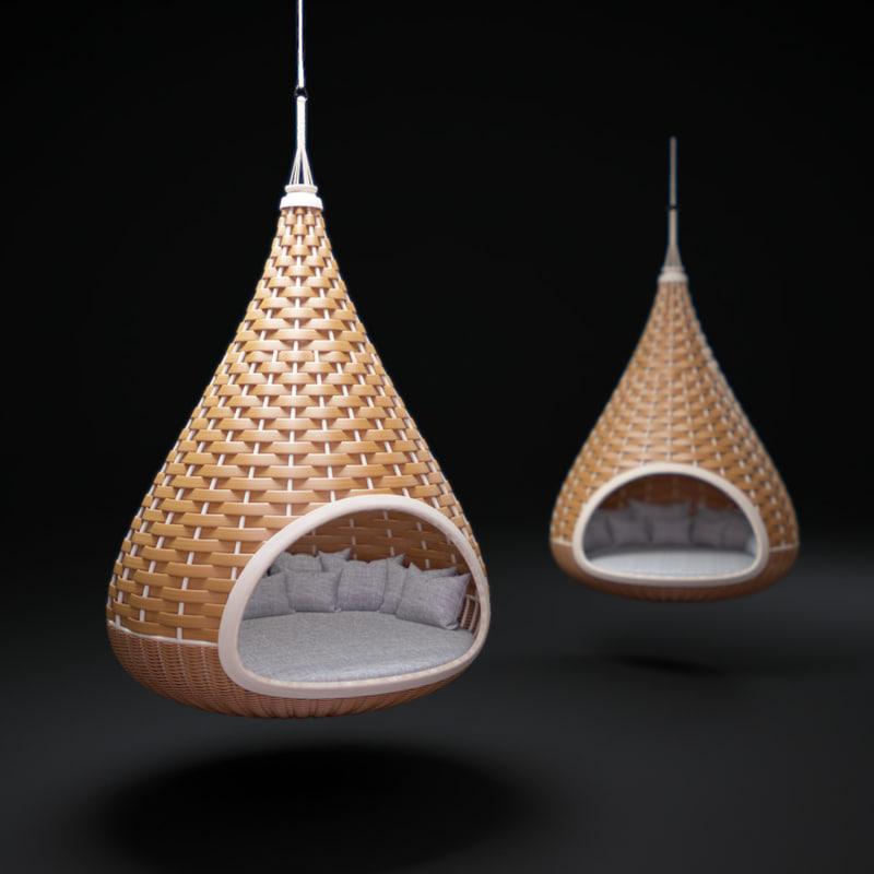 nestrest-hanging-lounger 3d model