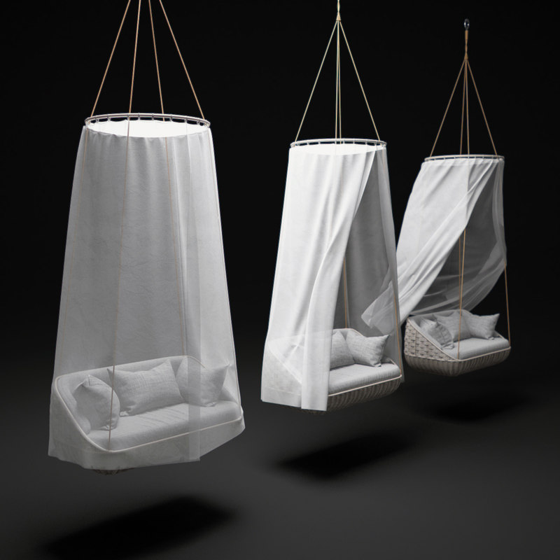 3d swingus-hanging-lounger