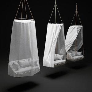 3d swingus-hanging-lounger