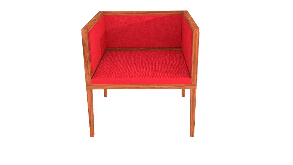 3d beautiful modern chair model