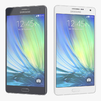Samsung Galaxy A7 Blue And White