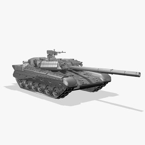3d t-84 battle tank