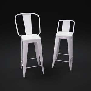 3d tolix-armchair-a97