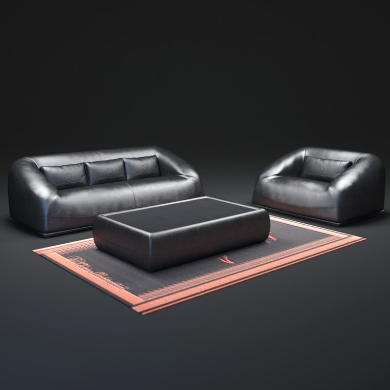 3d lg-sofas-and-low-tables model