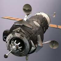 Soyuz Orbiter (High Poly)