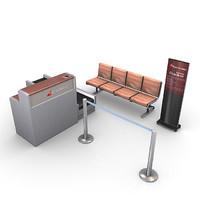 Airport Furniture Pack 1
