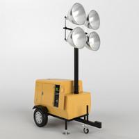 Tower light generator