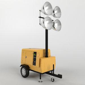 max tower light generator