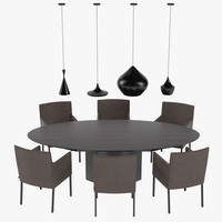 Tableset Rolf Benz