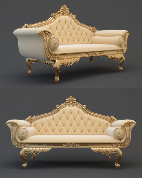 3d model sofa cnc