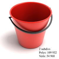 3d bucket model