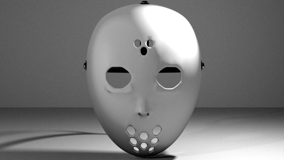 3d hockey mask