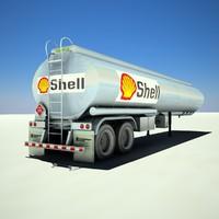 shell trailer 3d model