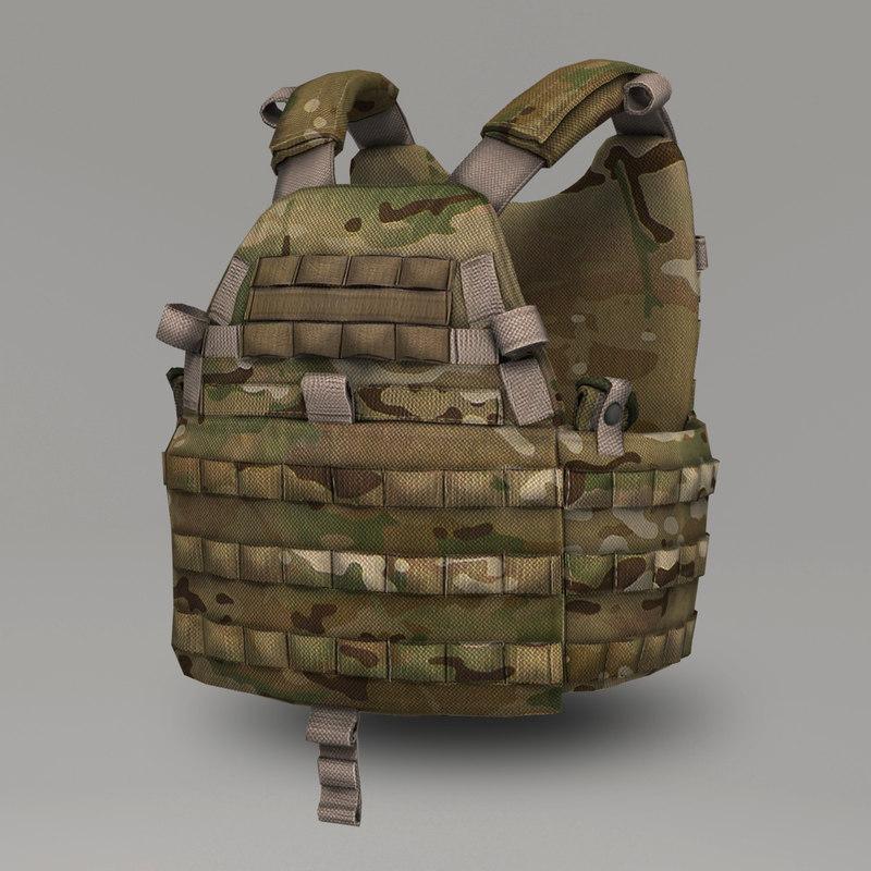 emerson 6094a tactical vest 3d max