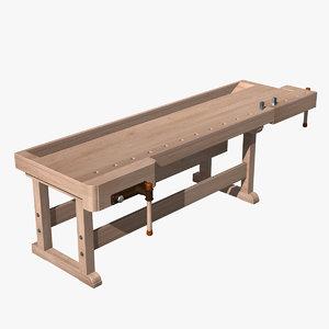 3d new workbench model