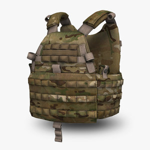emerson 6094a tactical vest 3d max