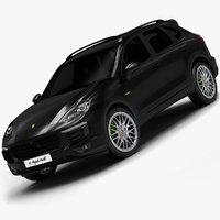 2015 Porsche Cayenne E-Hybrid (Low Interior)