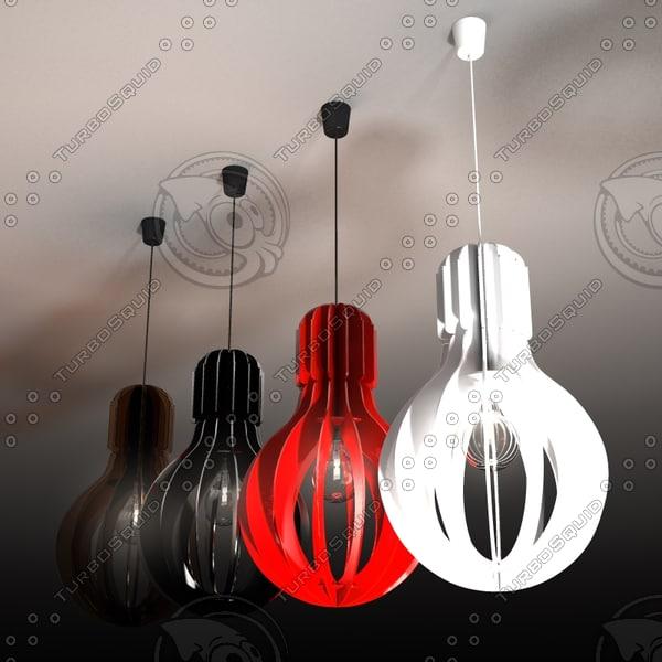 3ds pendant light lampada -