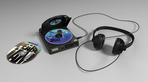 3d old craig cd player