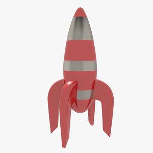 toy rocket 3d 3ds