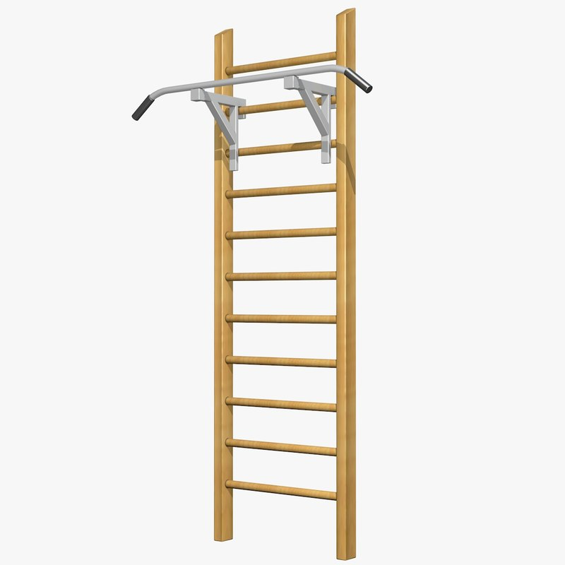 Gymnastic Ladder 3d Model