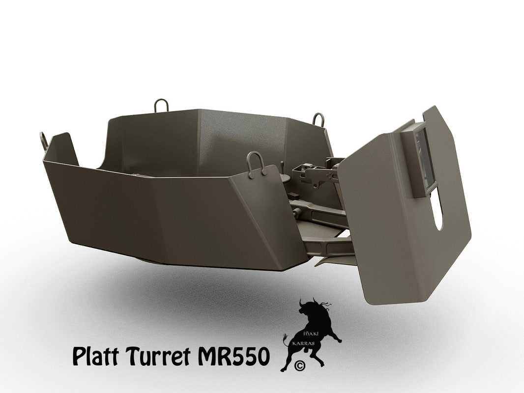 3ds max mr550 turret