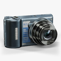 low-poly samsung wb250f cobalt 3d max