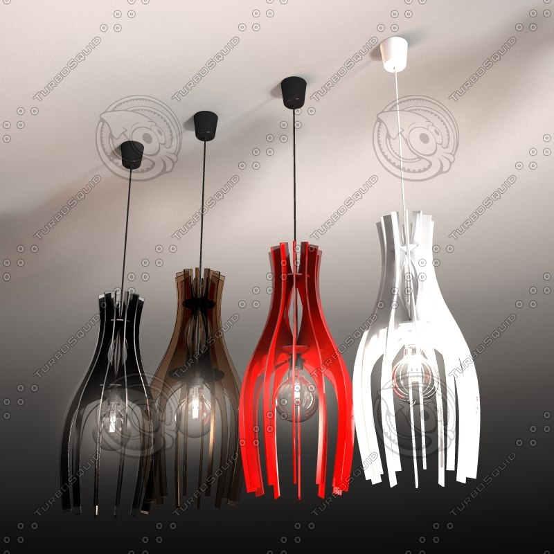 3ds max pendant light -