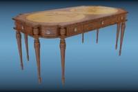 classic table 3d model