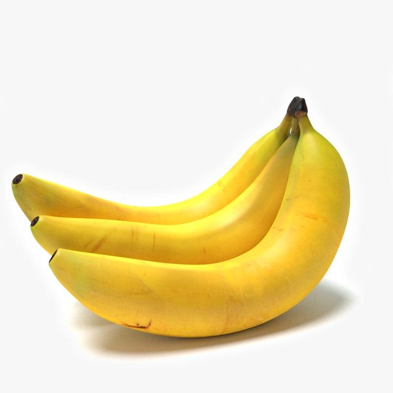 3d bananas