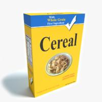 maya cereal box