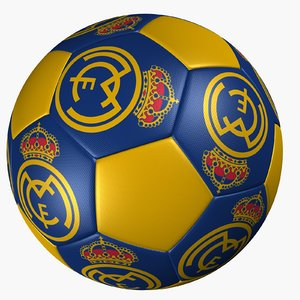 soccer ball real madrid 3d 3ds