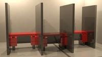 3d modern cubicles