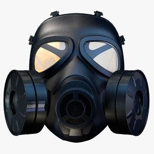 c4d gas mask