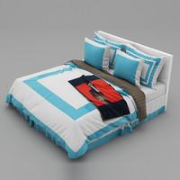 3d max bed 30