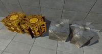 3d hell box model