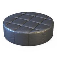 3d pouf cubo model
