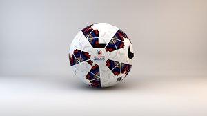 3d model nike ordem ball 2015