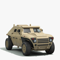 FED Alpha Armored Vehicle