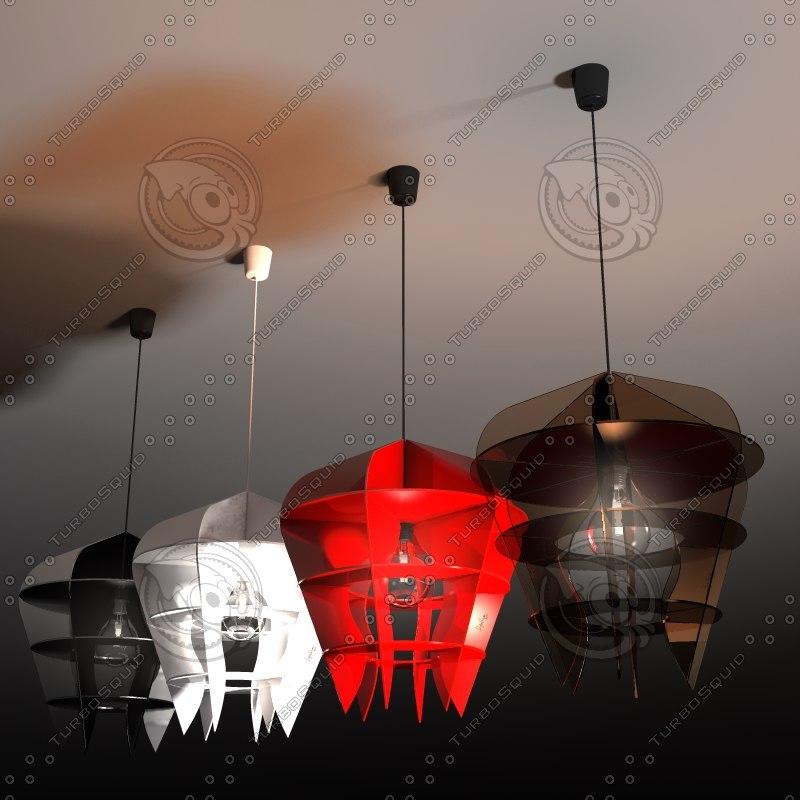pendant light anjo - 3d obj